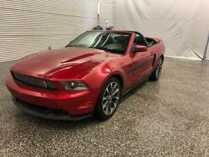 2011 Mustang California Spéciale convertible Rouge Candy