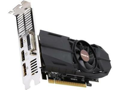 GIGABYTE GeForce GTX 1050 OC Low Profile 2GB Video Card, GBTGV-N1050OC-2GL