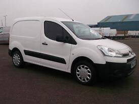 Citroen Berlingo 1.6 HDI 850 90PS 3 SEATER VAN DIESEL MANUAL WHITE (2013)