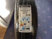Continental VancoFourSeason tyres for sale.