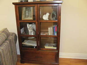 DISPLAY, DINING, STORAGE, BOOKCASE $280.