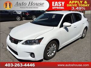 2011 Lexus CT 200h HYBRID LOW KMS 90 DAYS NO PAYMENTS