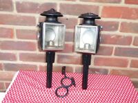 Victorian Carriage Lamps