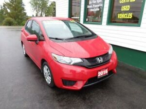 2016 Honda Fit LX for only $138 bi-weekly all in!