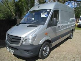 2013 Mercedes-Benz Sprinter 2.1TD 313CD MWB NO VAT SILVER 90,000 MILE GUARANTEED