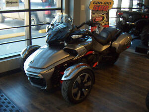 2016 Can-Am Spyder F3-Touring 6 Speed Clutchless Semi-Automatic