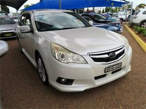 2009 Subaru Liberty B5 MY10 2.5i Lineartronic AWD Premium White 6 Speed Constant Variable Wagon Minchinbury Blacktown Area Preview