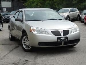 2005 Pontiac G6, with alloy, WITH SAFETY AND E-TEST