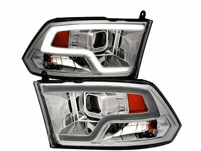 For 2009-2010 Dodge Ram 1500 Headlight Set Anzo 16864HF Headlight Assembly