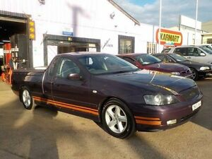 2005 Ford Falcon BA Mk II XLS Purple Sports Automatic Utility North St Marys Penrith Area Preview