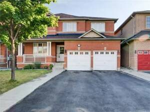 Spacious 4+2 Bedrooms Home Double Garage On A Premium Wide Lot.