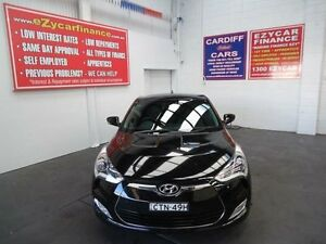 2014 Hyundai Veloster FS MY13 + Black 6 Speed Manual Coupe Cardiff Lake Macquarie Area Preview