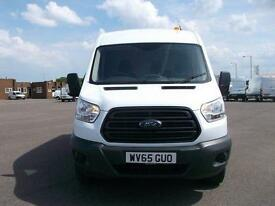 Ford Transit T350 MWB MEDIUM ROOF TDCI 100PS VAN DIESEL MANUAL WHITE (2015)