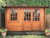 12 x 10 foot wooden summer house for sale
