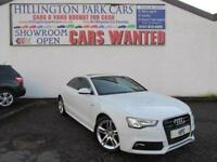 2016 Audi A5 2.0TDI ( 190ps ) ( s/s ) quattro Tronic S Line, PAN ROOF, SAT NAV