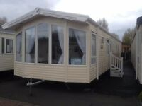 NEW Willerby Aspen 3 bed on Talacre Beach in north wales
