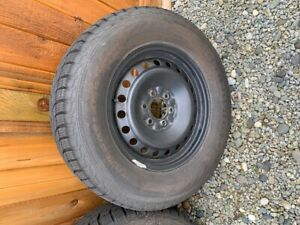 6 Bolt Rims and Winter Tires for sale 275/65/18 - $450
