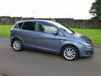 2009 SEAT ALTEA TDI SE ONLY 45000 MILES F.S.H FINANCE AVALIABLE