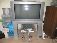 2 x old style TV's free to collector