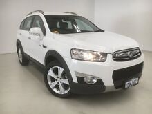 2012 Holden Captiva CG Series II 7 White 6 Speed Sports Automatic Wagon Edgewater Joondalup Area Preview