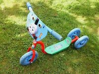 3 wheeled toddler scooter