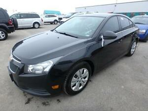 2013 CHEVROLET CRUZE LT WITH SUNROOF 4 CYL CLEAN EASY FINANCING