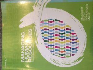 Conestoga College Human Resources Text Books