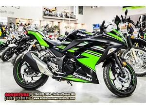 2016 Kawasaki Ninja 300 ABS Kawasaki Racing Team Edition - Only