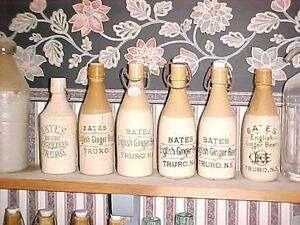 Nova Scotia Ginger Beer, Pop, Milk & Medicine Bottles Wanted