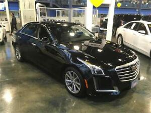 2017 Cadillac CTS Sedan Luxury Collection AWD 3.6 V6 black