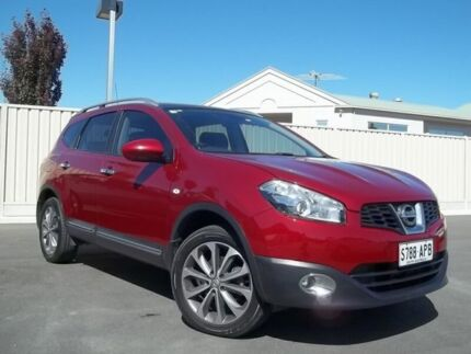 2011 Nissan Dualis J10 Series II MY2010 +2 Hatch X-tronic Ti Burgundy 6 Speed Constant Variable Murray Bridge Murray Bridge Area Preview