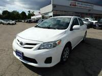 2013 Toyota Corolla LE WITH SUNROOF BLUETOOTH CERTIFIED E-TESTED