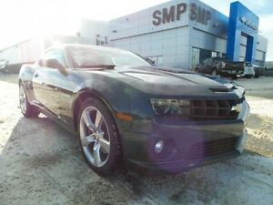 2012 Chevrolet Camaro 2SS 6.2V8, 11,400 km,  PST paid, leather,
