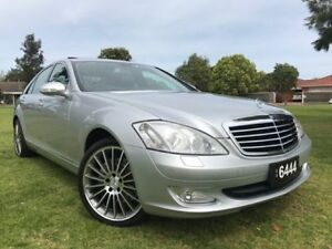 2006 Mercedes-Benz S350 W221 MY07 Silver 7 Speed Automatic Sedan Somerton Park Holdfast Bay Preview