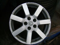 WHY USE RUSTY STEEL RIMS!! 17' NISSAN OEM RIMS