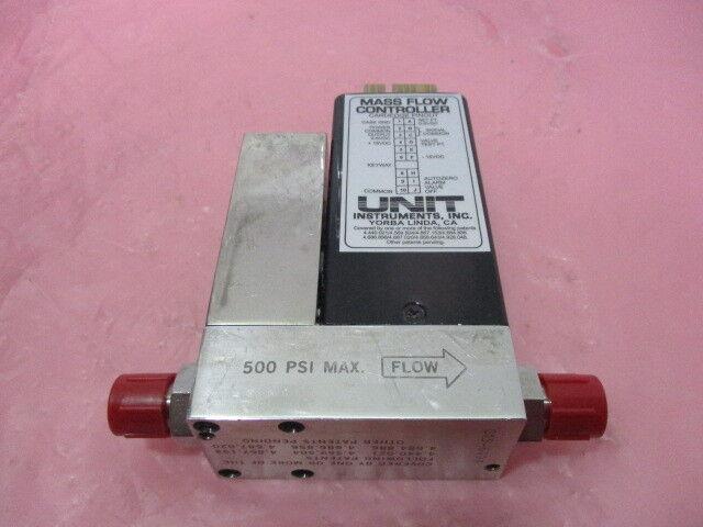 Unit Instruments UFC-1500A Mass Flow Controller, MFC, WF6, 30 SCCM, 450552