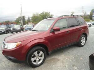 NICE COLOR! 2010 SUBARU FORESTER! NEW MVI! , ALLOY RIMS !
