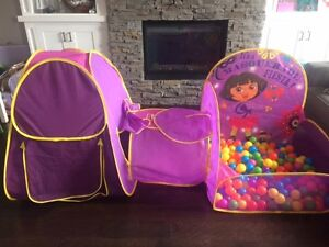 Dora Ball Pit With Tunnel and Tent