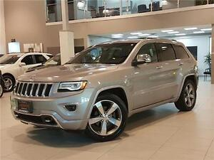 2014 Jeep Grand Cherokee OVERLAND-NAVIGATION-LEATHER-ROOF-LOADED