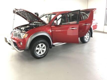 2008 Mitsubishi Triton ML MY08 GLX-R Double Cab Red 5 Speed Manual Utility Frankston Frankston Area Preview