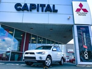 2012 Mitsubishi Outlander LS 4WD Sportronic at (to September)