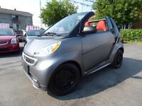 2013 SMART FORTWO PASSION CABRIOLET (9,000 KM, BLUETOOTH, GPS!!)