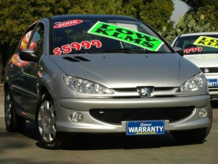 2005 Peugeot 206 XT Silver 4 Speed Tiptronic Hatchback Homebush Strathfield Area Preview