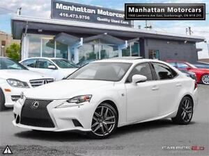 2015 LEXUS IS 250 AWD F SPORT |NAV|CAMERA|PHONE|B.SPOT|WARRANTY