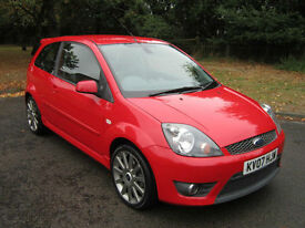 FORD FIESTA 2.0 ST RED 2007 (07) ONLY 57K FSH 8 X STAMPS / 1YRS MOT / A/C / VGC!