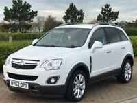 VAUXHALL ANTARA 2.2 SE NAV CDTI 4WD S/S 5d 161 BHP (white) 2013
