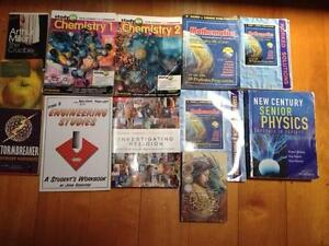SECONDHAND HIGH SCHOOL TEXT BOOKS FOR SALE       (ST PETERS LUTHE Indooroopilly Brisbane South West Preview