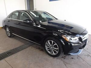 2016 Mercedes-Benz C-Class C300 4MATIC LEATHER NAVI SUNROOF