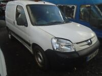 breaking for spares peugeot partner 2007 1.6 hdi