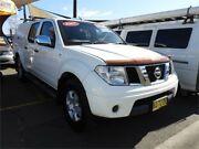 2007 Nissan Navara D40 RX White 5 Speed Automatic Utility Minchinbury Blacktown Area Preview
